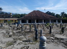 The old Mosque of Pengkalan Kakap in Merbok, Kedah Stock Image