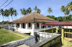 The Old Mosque of Pengkalan Kakap in Merbok, Kedah Stock Photography