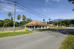 The Old Mosque of Pengkalan Kakap in Merbok, Kedah Royalty Free Stock Photo