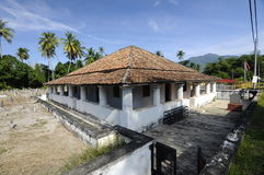 The Old Mosque of Pengkalan Kakap in Merbok, Kedah Royalty Free Stock Photography