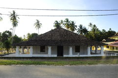 The Old Mosque of Pengkalan Kakap in Merbok, Kedah Royalty Free Stock Photography
