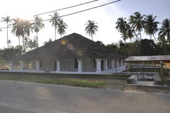 The Old Mosque of Pengkalan Kakap in Merbok, Kedah Royalty Free Stock Photo