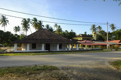 The Old Mosque of Pengkalan Kakap in Merbok, Kedah Stock Photo