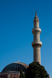 Old mosque in Rhodes, Greece Royalty Free Stock Photo