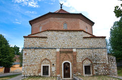 Old mosque of Siklos. With cloudy background Stock Image