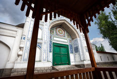Old mosque in south Kazakhstan Stock Photography