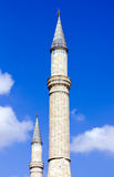 Old Mosque Towers Royalty Free Stock Photo