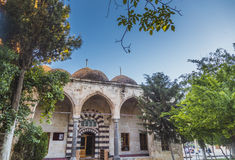 Old mosque in Urfa city in Turkey Royalty Free Stock Photo
