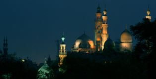 Old mosque. A very old mosque in cairo Royalty Free Stock Images