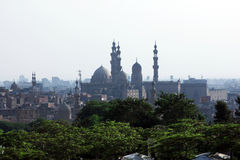 Old mosques in cairo Royalty Free Stock Images