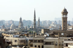 Old mosques in cairo Royalty Free Stock Photo