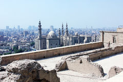Old mosques in cairo Stock Images