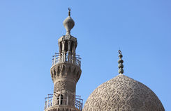 Old mosques in cairo in egypt Royalty Free Stock Image