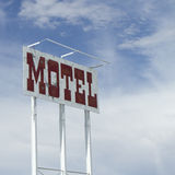 Old Motel Sign Stock Photo