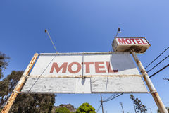Old Motel Sign Royalty Free Stock Photo