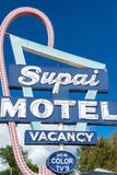 Old Motel Sign Royalty Free Stock Photography