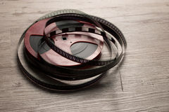 Old motion picture film reel Stock Photography