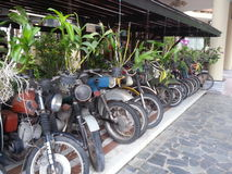 Old motobikes in viettnam Stock Images