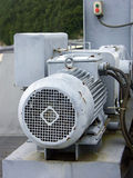Old motor stock image