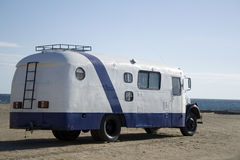 Old motor home Stock Image