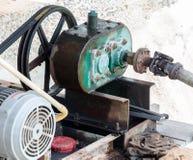 Old motor Stock Photo