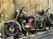 Old motorbike Royalty Free Stock Image