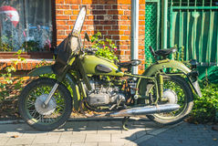 Old motorbike Stock Image