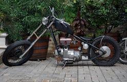 Old motorbike Stock Image