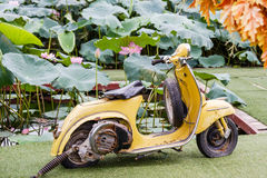 Old motorbycycle Royalty Free Stock Image