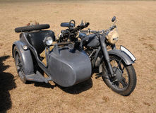 Old motorcycle Royalty Free Stock Photography