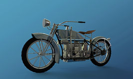 Old motorcycle Stock Image