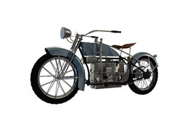 Old motorcycle Royalty Free Stock Photos