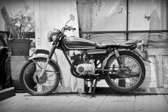 Old motorcycle. Stock Photography