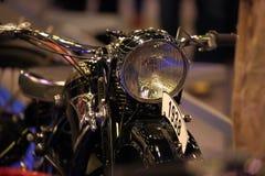 Old motorcycle closeup Stock Photos