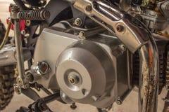 Old motorcycle engine Stock Photo