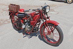 Old motorcycle Moto Guzzi Sport 14 Royalty Free Stock Images