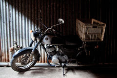 Old motorcycle Royalty Free Stock Photo