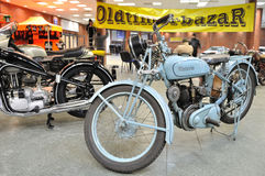 Old motorcycles Stock Image