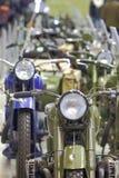 Old motorcycles closeup Stock Image