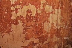Old mottled plaster Royalty Free Stock Photography