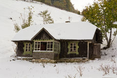 Old mountain cottage Royalty Free Stock Images