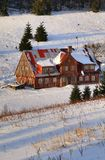 Old mountain cottage Royalty Free Stock Image