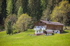 Old mountain farm in South Tyrol Royalty Free Stock Photography