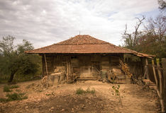 Old mountain house. stock image