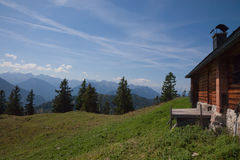 Old mountain hut Royalty Free Stock Photos