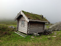 An old mountain hut Stock Photos