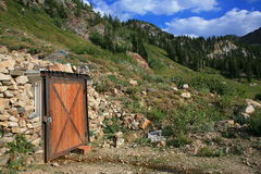 Old mountain mine 2 Royalty Free Stock Photo