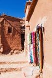 Old mountain village Ait-Ben-Haddou Stock Photo