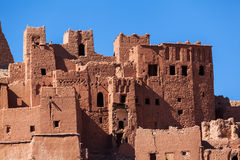 Old mountain village Ait-Ben-Haddou Royalty Free Stock Images