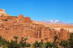 Old mountain village Ait-Ben-Haddou Stock Image